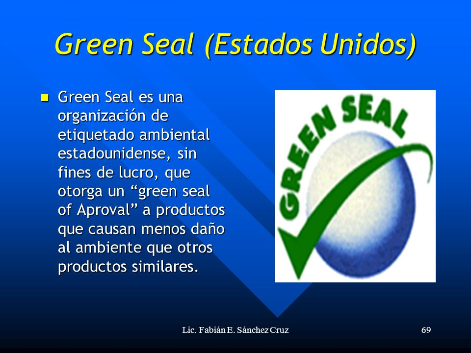Green Seal (Estados Unidos)