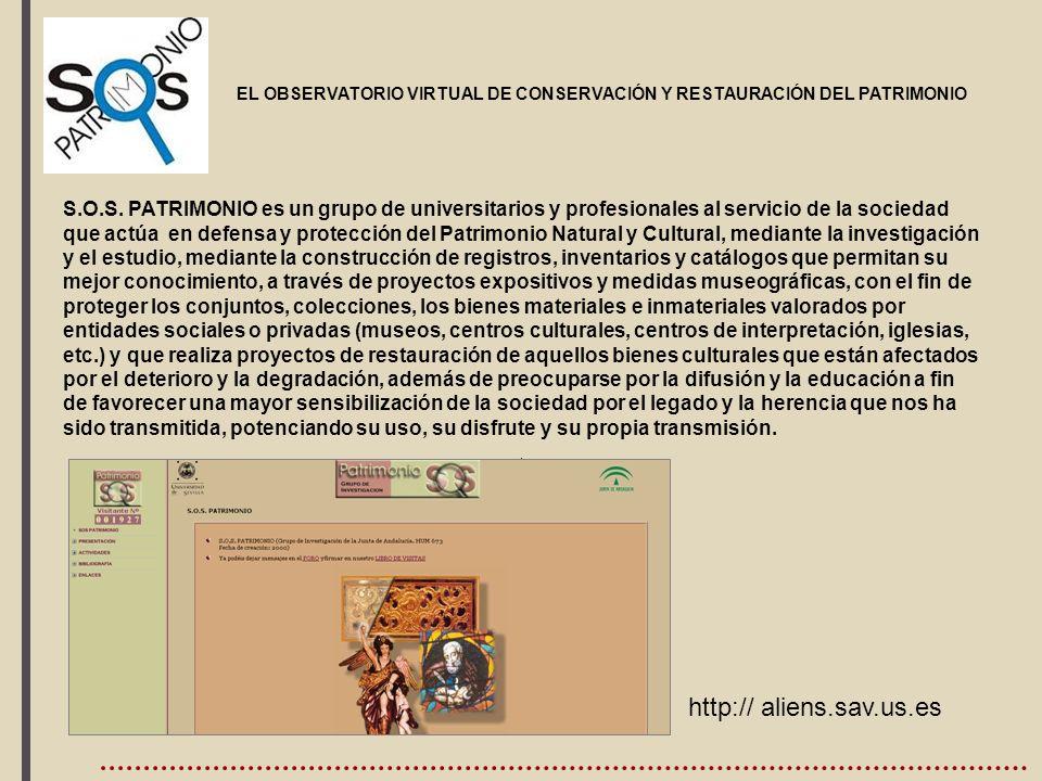 , http:// aliens.sav.us.es