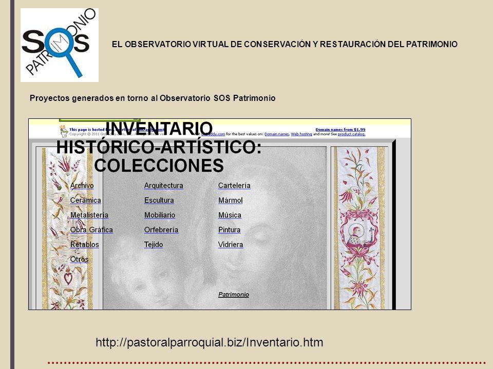 , http://pastoralparroquial.biz/Inventario.htm