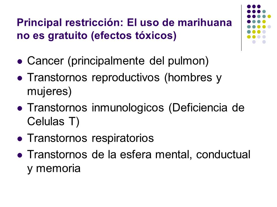 Cancer (principalmente del pulmon)