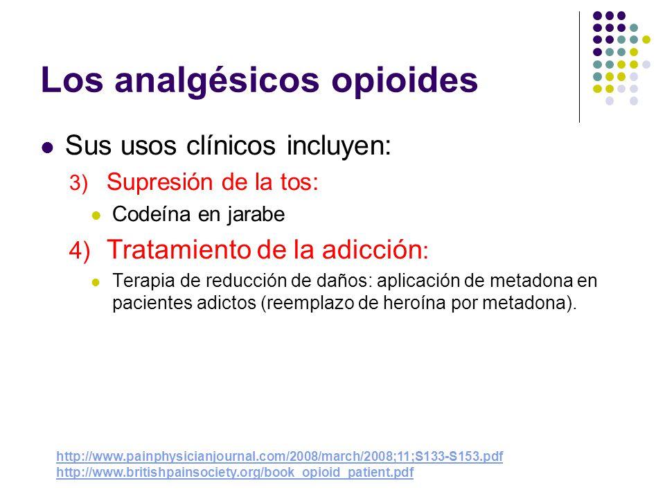 Los analgésicos opioides