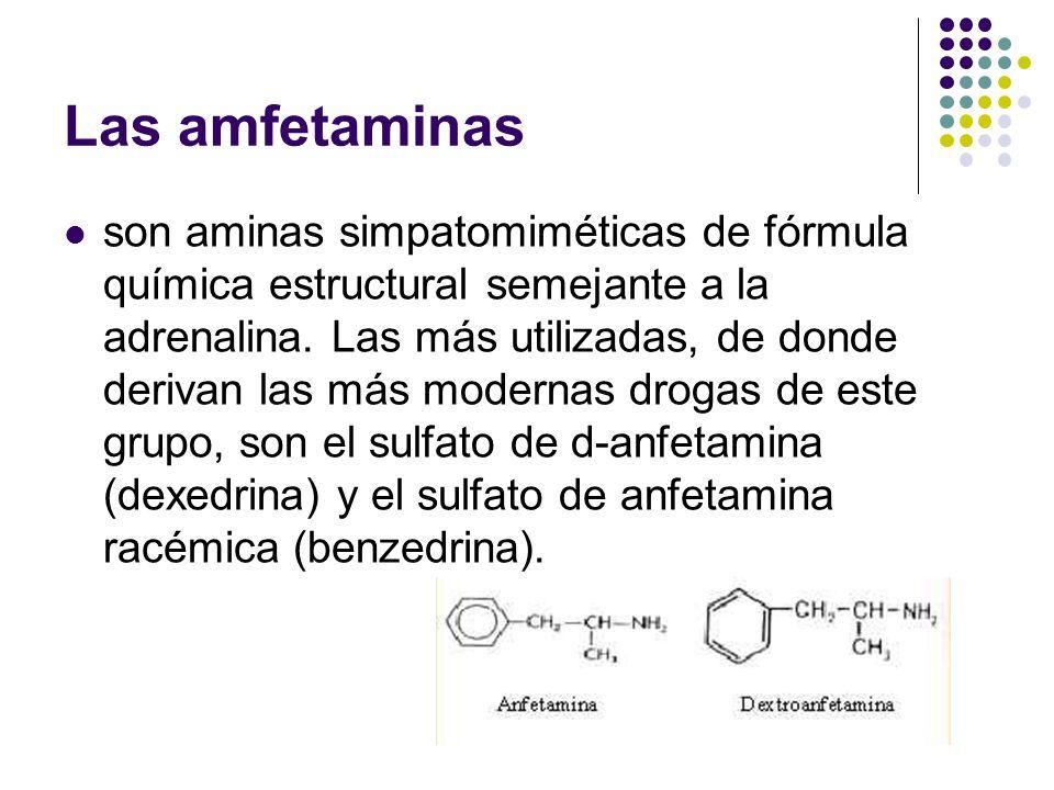 Las amfetaminas