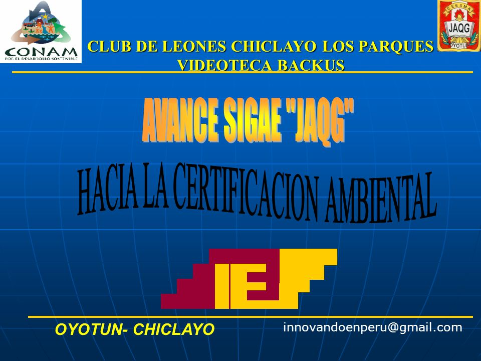 CLUB DE LEONES CHICLAYO LOS PARQUES