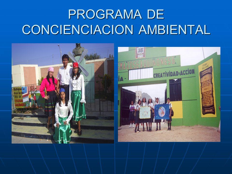 PROGRAMA DE CONCIENCIACION AMBIENTAL
