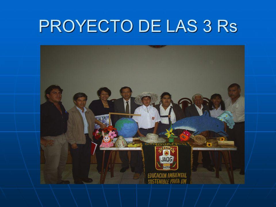 PROYECTO DE LAS 3 Rs
