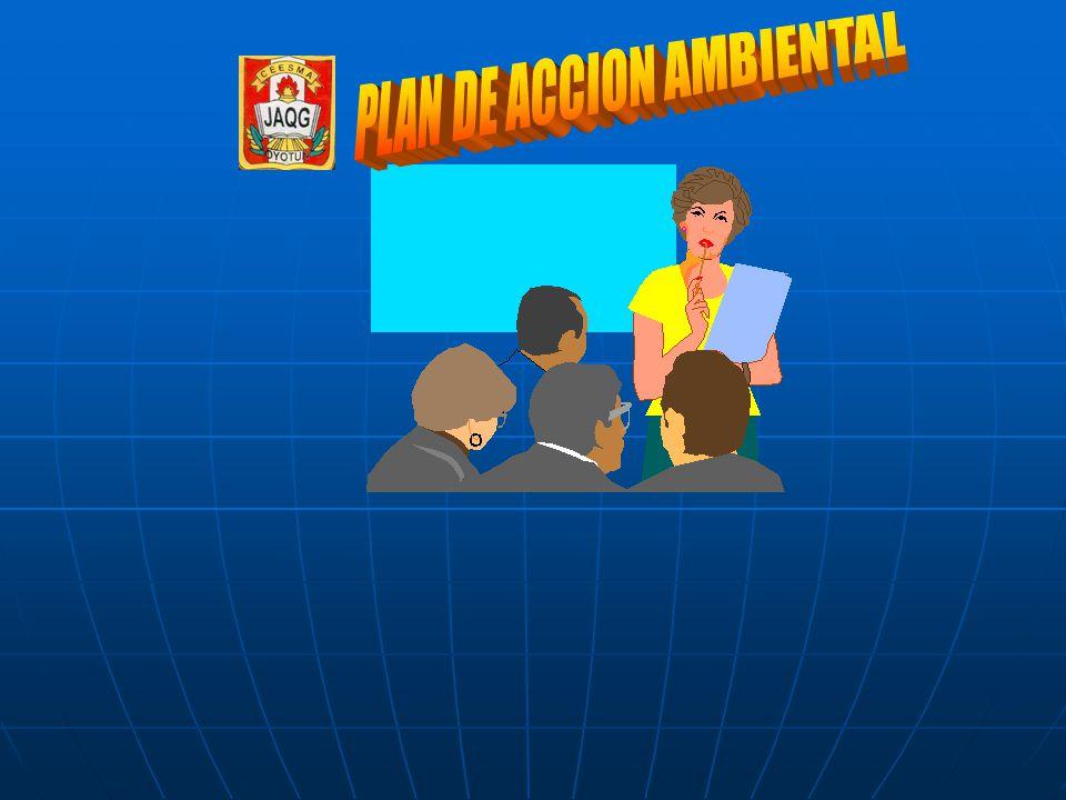 PLAN DE ACCION AMBIENTAL