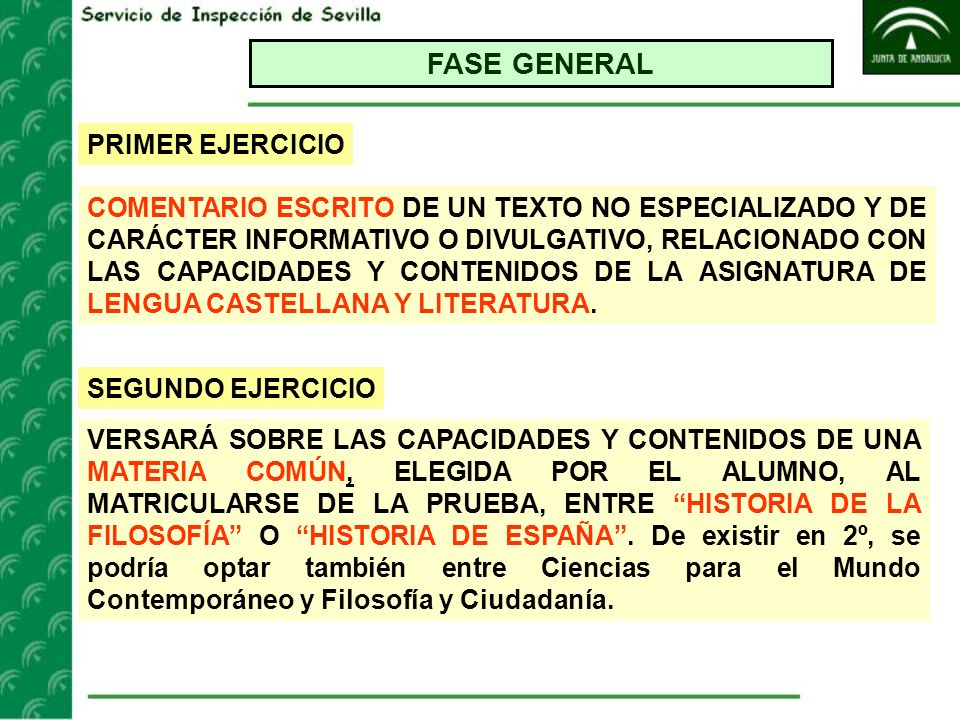 FASE GENERAL PRIMER EJERCICIO