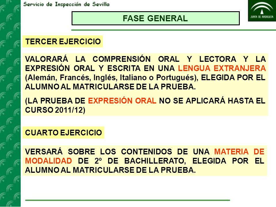 FASE GENERAL TERCER EJERCICIO