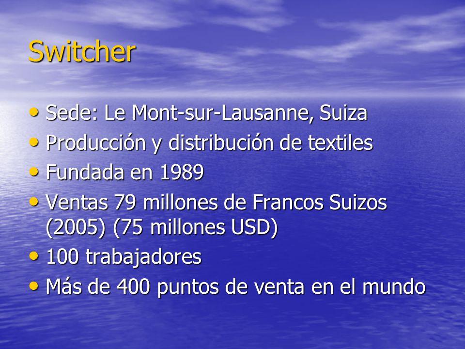 Switcher Sede: Le Mont-sur-Lausanne, Suiza