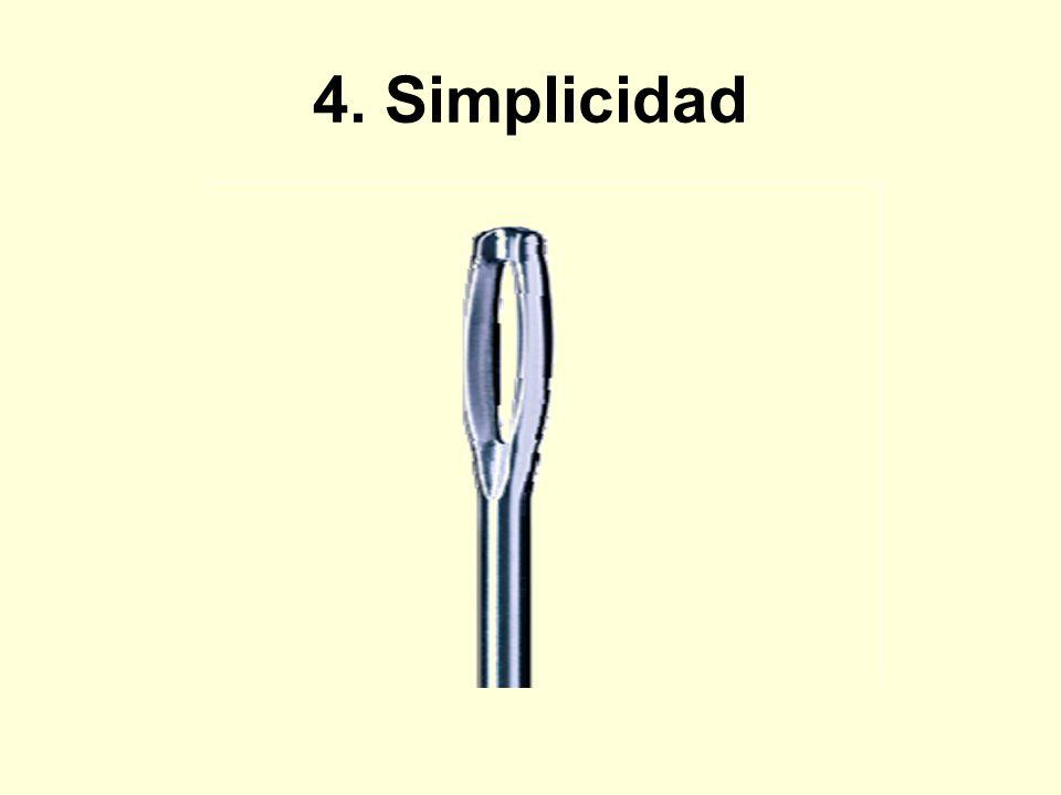 4. Simplicidad
