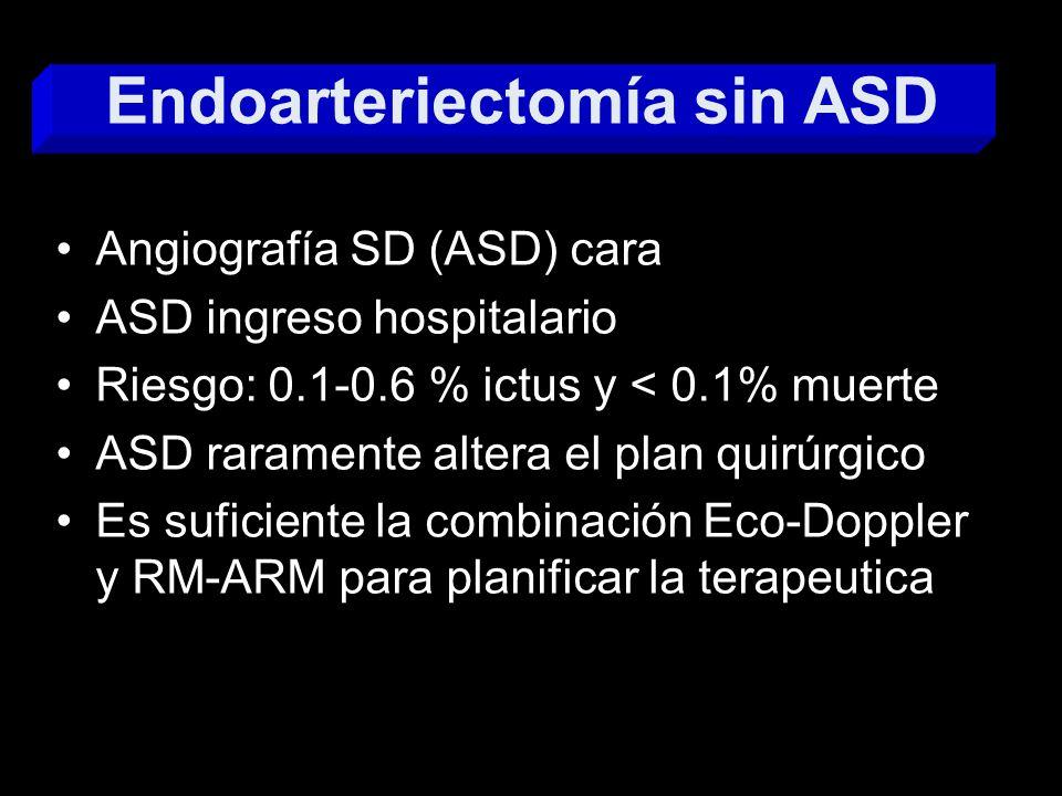 Endoarteriectomía sin ASD