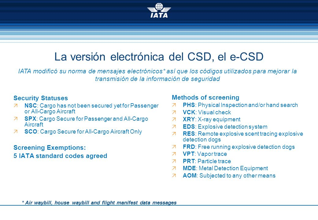 La versión electrónica del CSD, el e-CSD