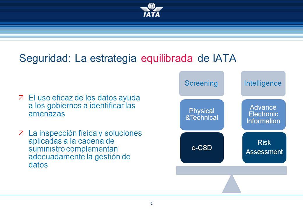 Seguridad: La estrategia equilibrada de IATA