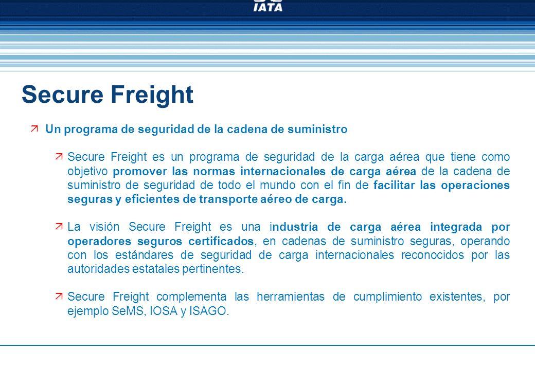 Secure Freight Un programa de seguridad de la cadena de suministro
