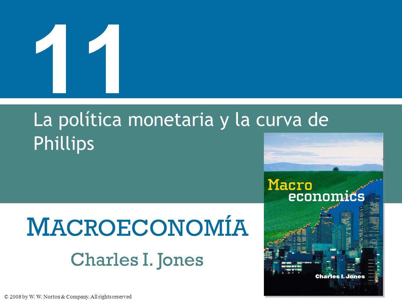 La política monetaria y la curva de Phillips