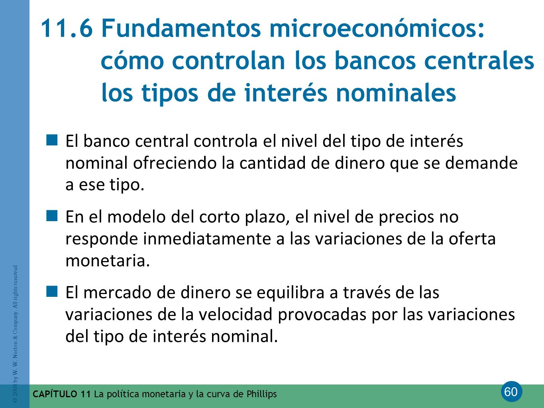 11.6 Fundamentos microeconómicos: cómo controlan los bancos centrales los tipos de interés nominales