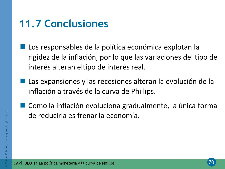 11.7 Conclusiones