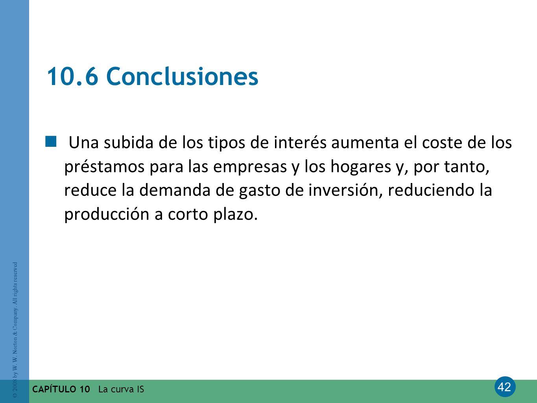 10.6 Conclusiones