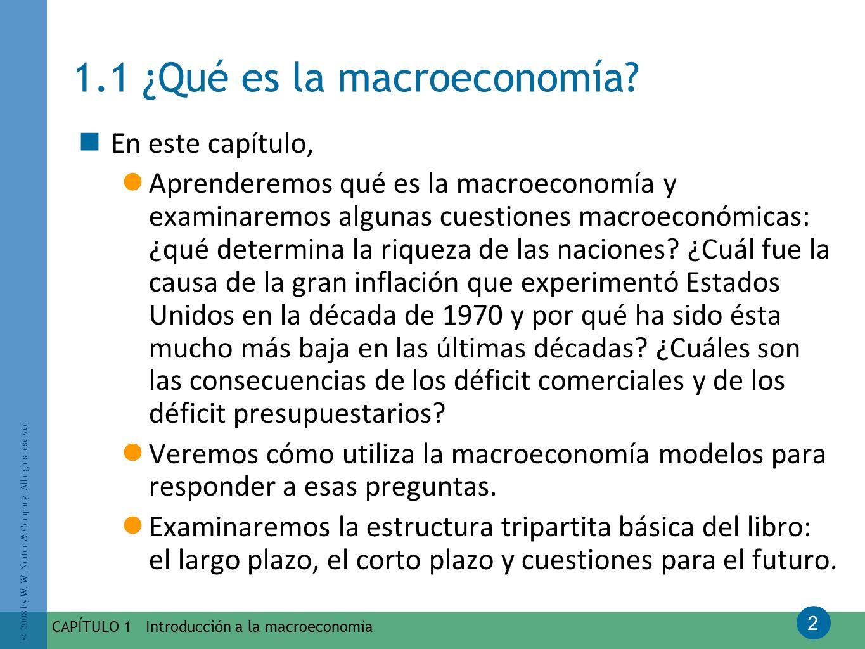 1.1 ¿Qué es la macroeconomía