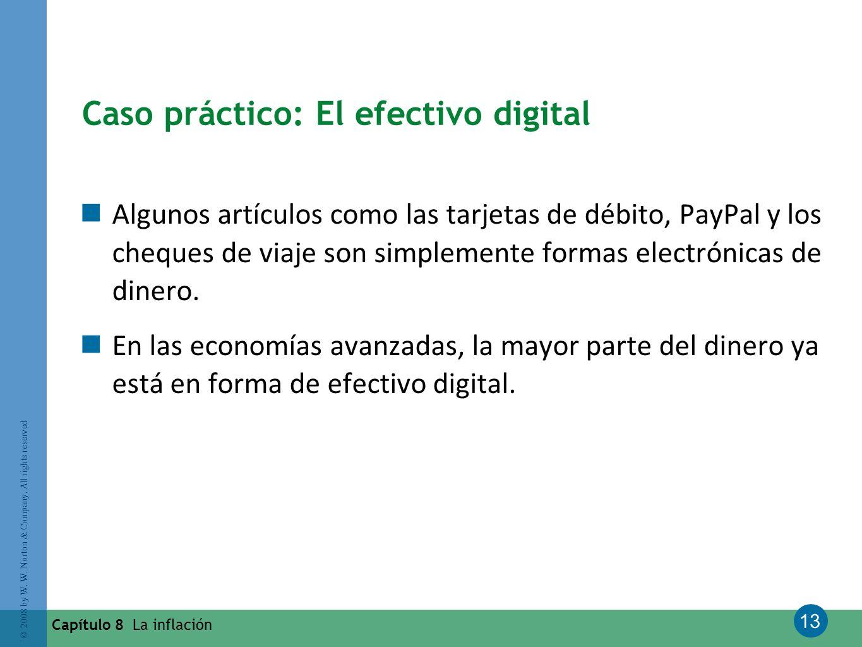 Caso práctico: El efectivo digital