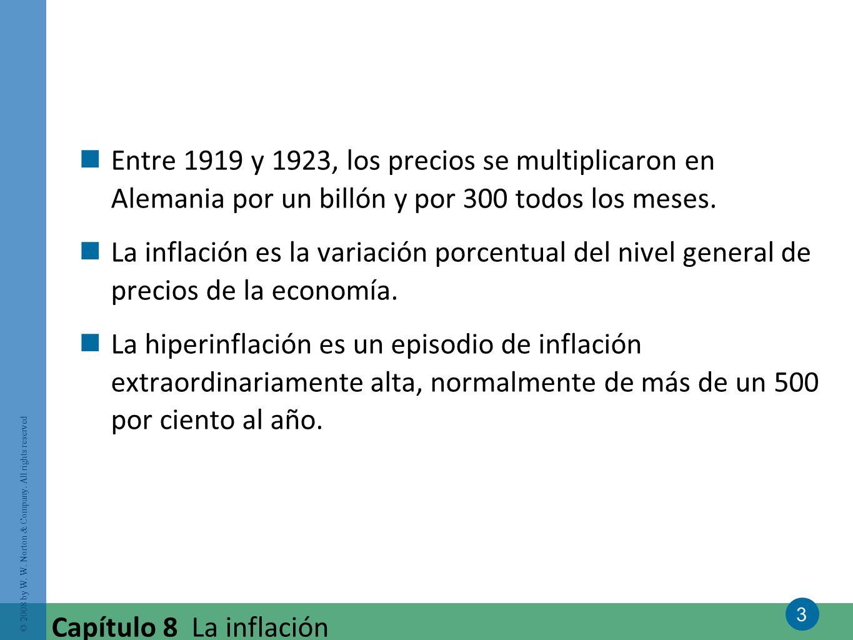 Entre 1919 y 1923, los precios se multiplicaron en Alemania por un billón y por 300 todos los meses.