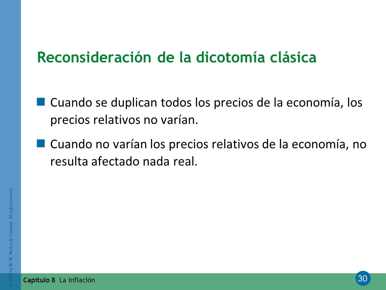 Reconsideración de la dicotomía clásica