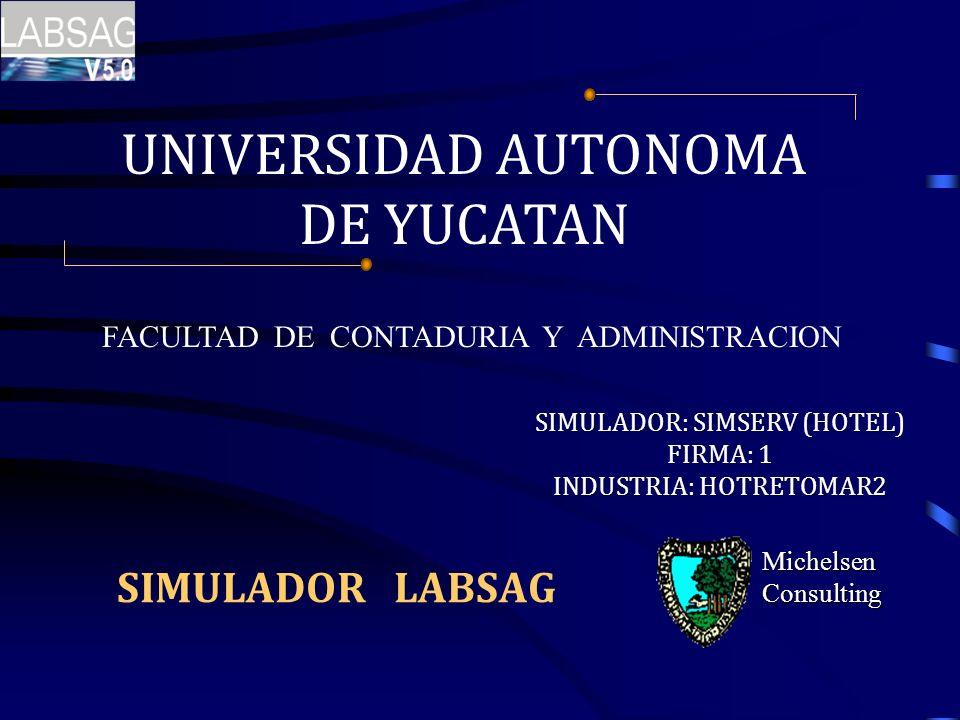 UNIVERSIDAD AUTONOMA DE YUCATAN SIMULADOR LABSAG
