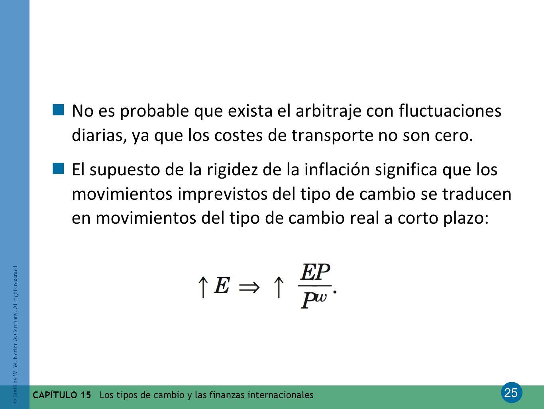 No es probable que exista el arbitraje con fluctuaciones diarias, ya que los costes de transporte no son cero.