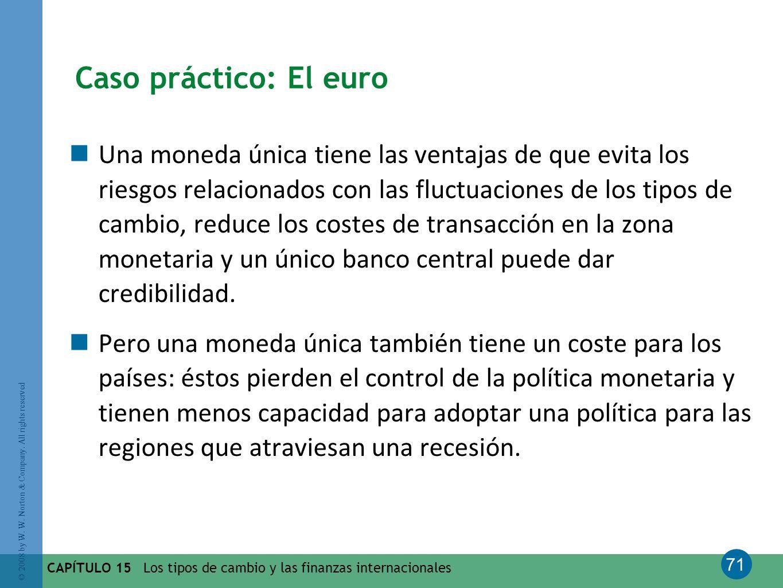 Caso práctico: El euro