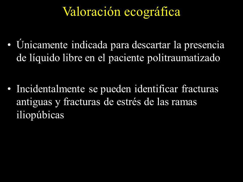 Valoración ecográfica