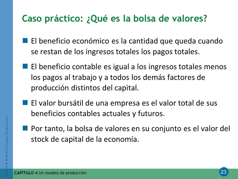 Caso práctico: ¿Qué es la bolsa de valores