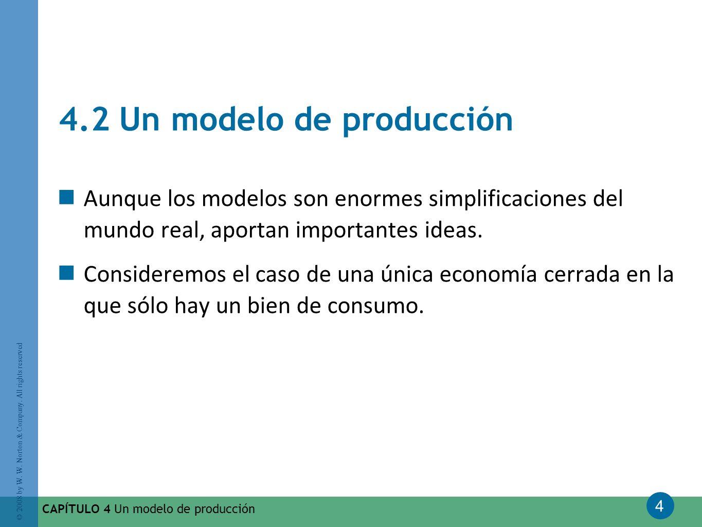 4.2 Un modelo de producción