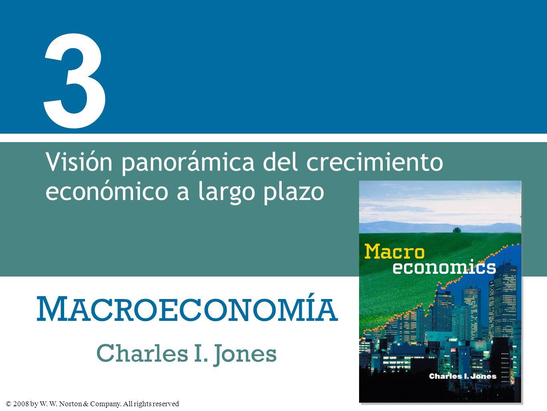Visión panorámica del crecimiento económico a largo plazo
