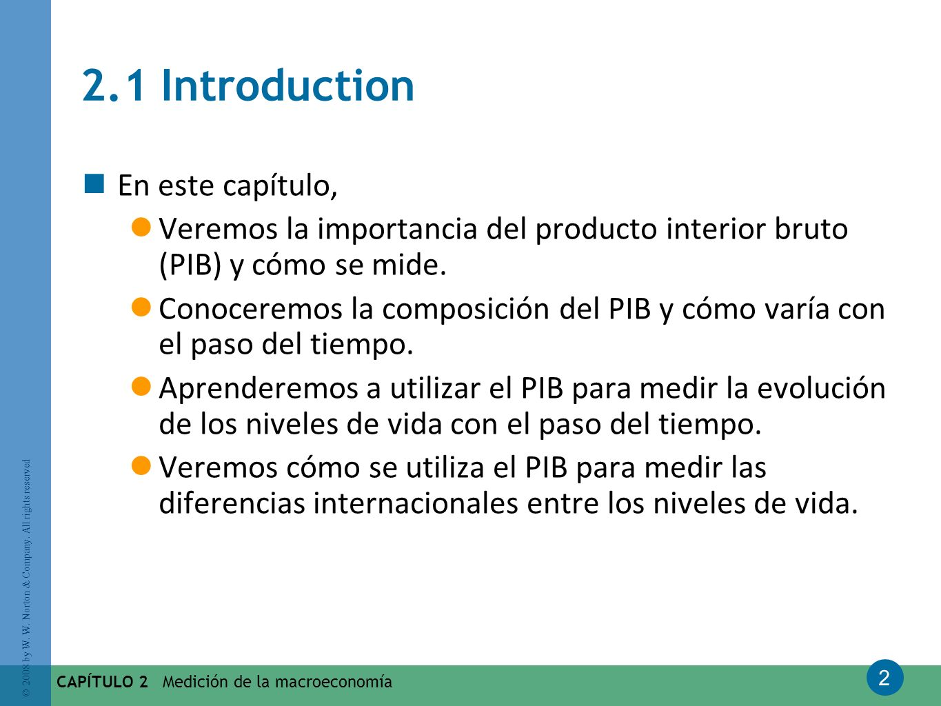 2.1 Introduction En este capítulo,