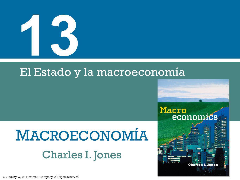 El Estado y la macroeconomía