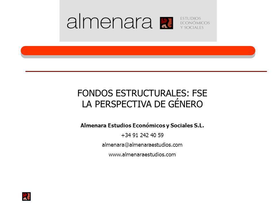 Almenara Estudios Económicos y Sociales S.L.