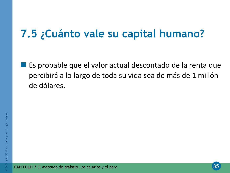 7.5 ¿Cuánto vale su capital humano