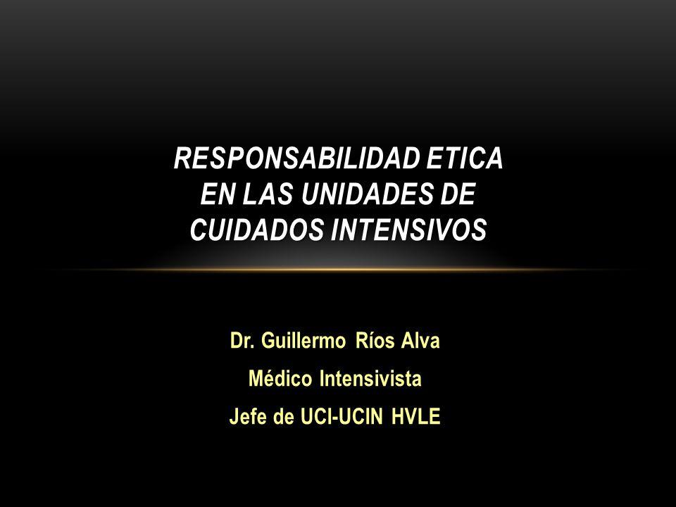 RESPONSABILIDAD ETICA EN LAS UNIDADES DE CUIDADOS INTENSIVOS