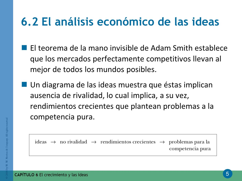 6.2 El análisis económico de las ideas