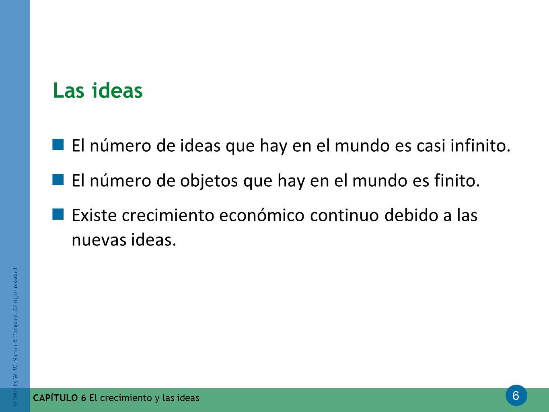 Las ideas El número de ideas que hay en el mundo es casi infinito.