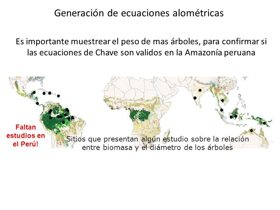 Faltan estudios en el Perú!