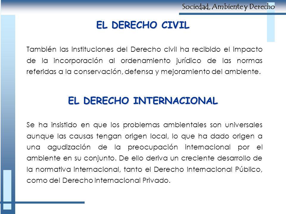 EL DERECHO INTERNACIONAL