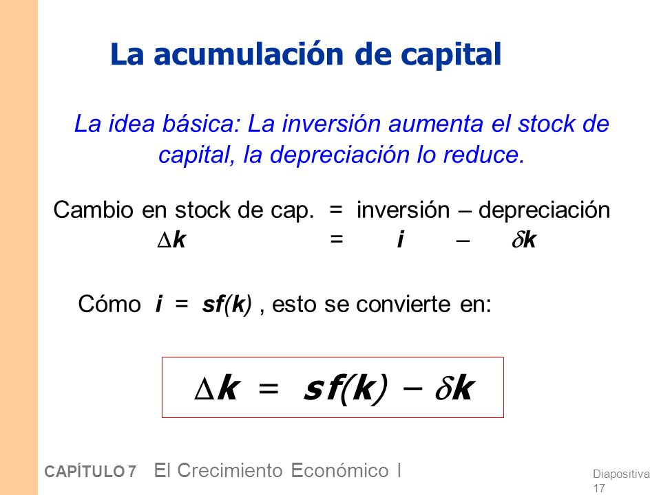 La acumulación de capital