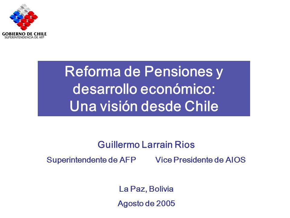 Reforma de Pensiones y desarrollo económico: Una visión desde Chile