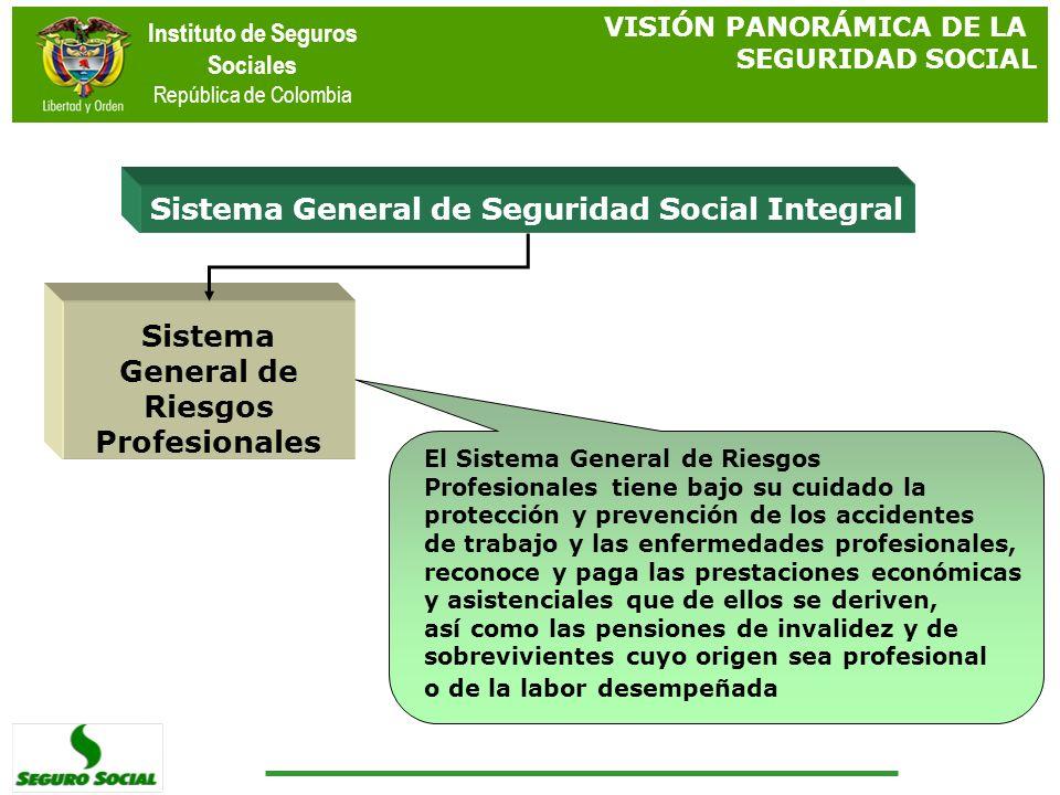 Sistema General de Seguridad Social Integral