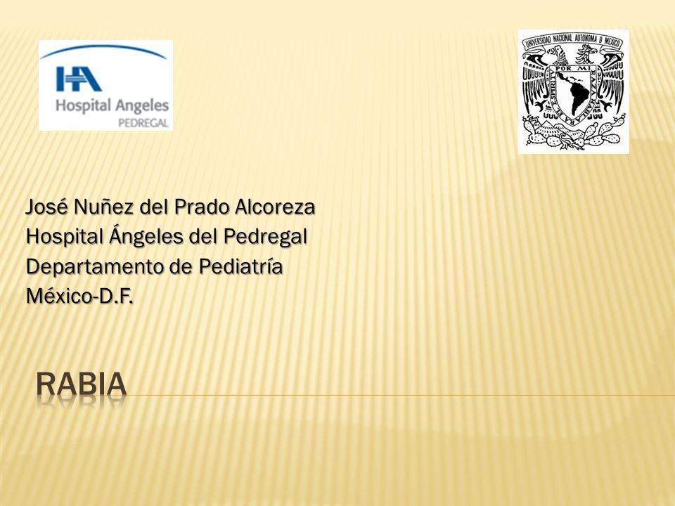 rabia José Nuñez del Prado Alcoreza Hospital Ángeles del Pedregal