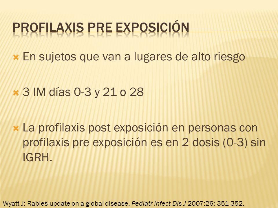 Profilaxis PRE exposición