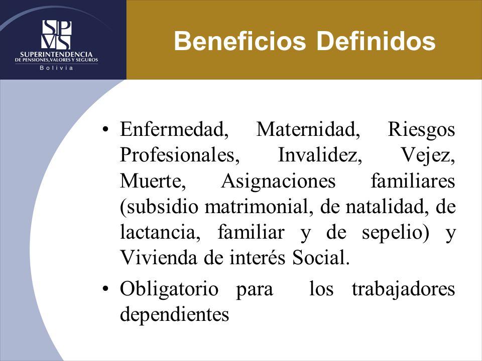 Beneficios Definidos