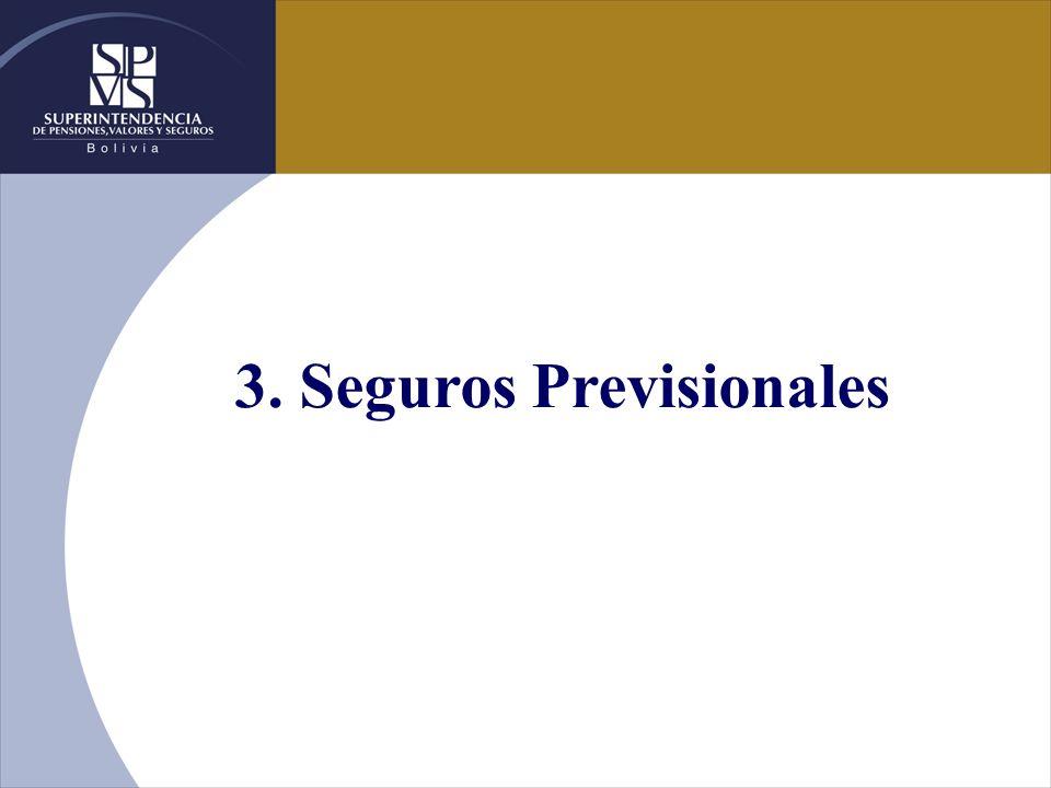 3. Seguros Previsionales