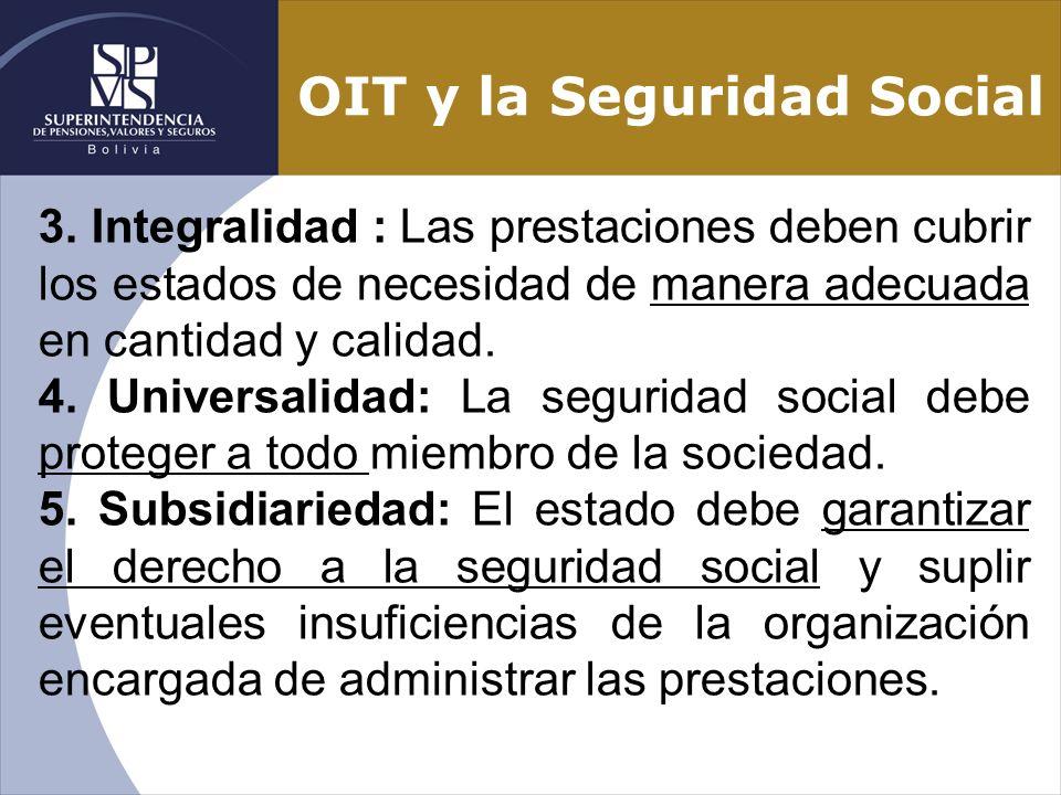 OIT y la Seguridad Social